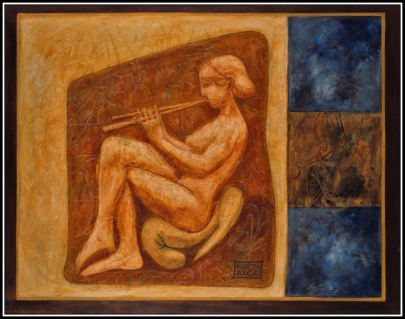 Greek Flute Player