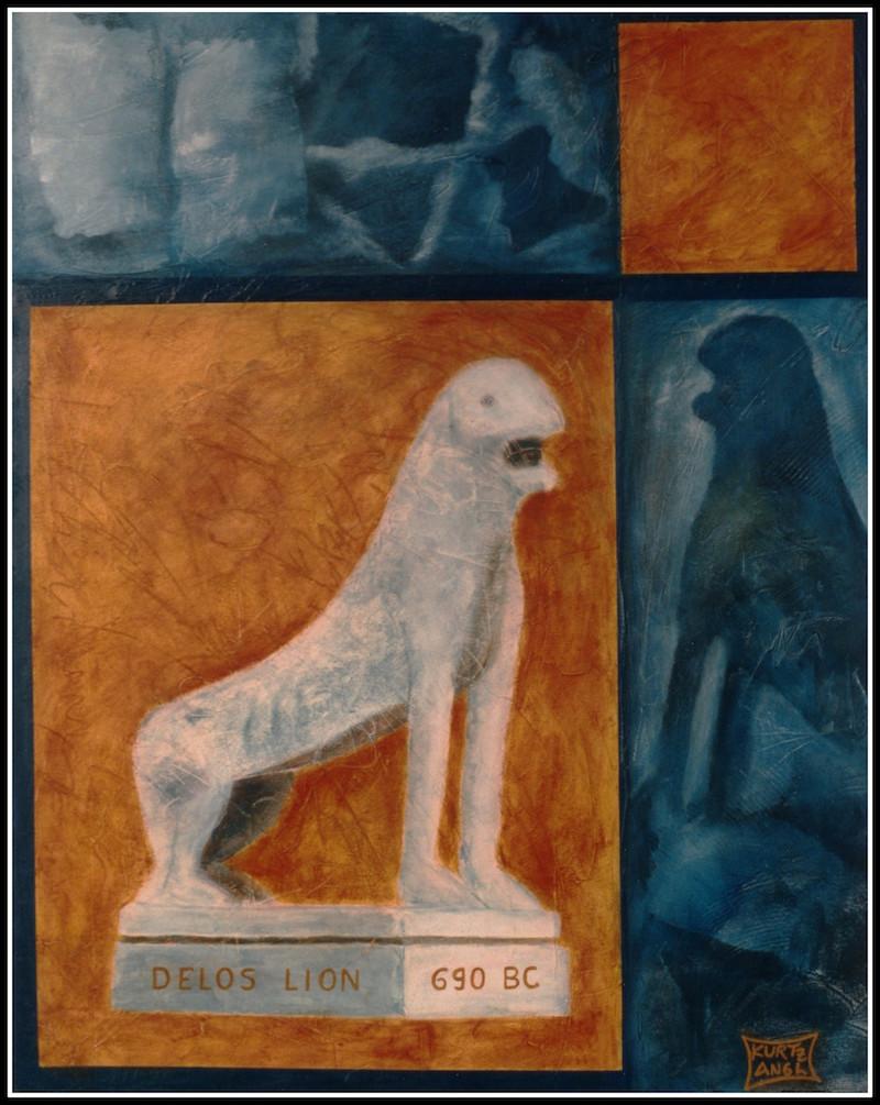 Delos Lion, 690 BC