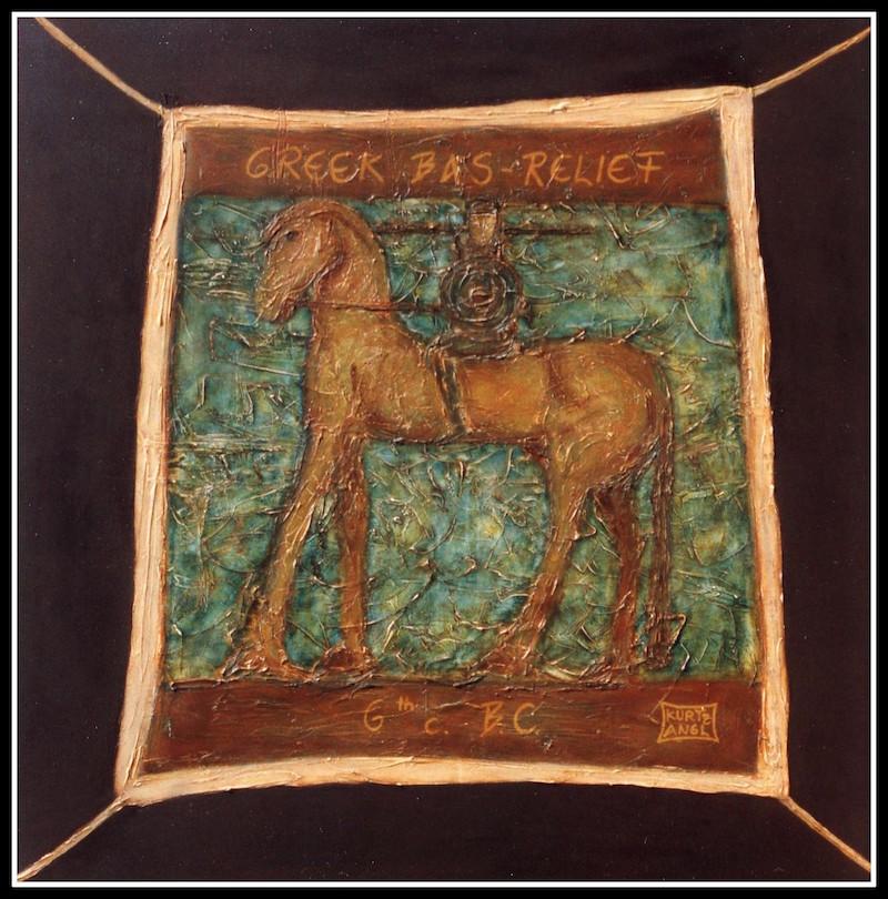 Greek Bas-relief, 600 BC