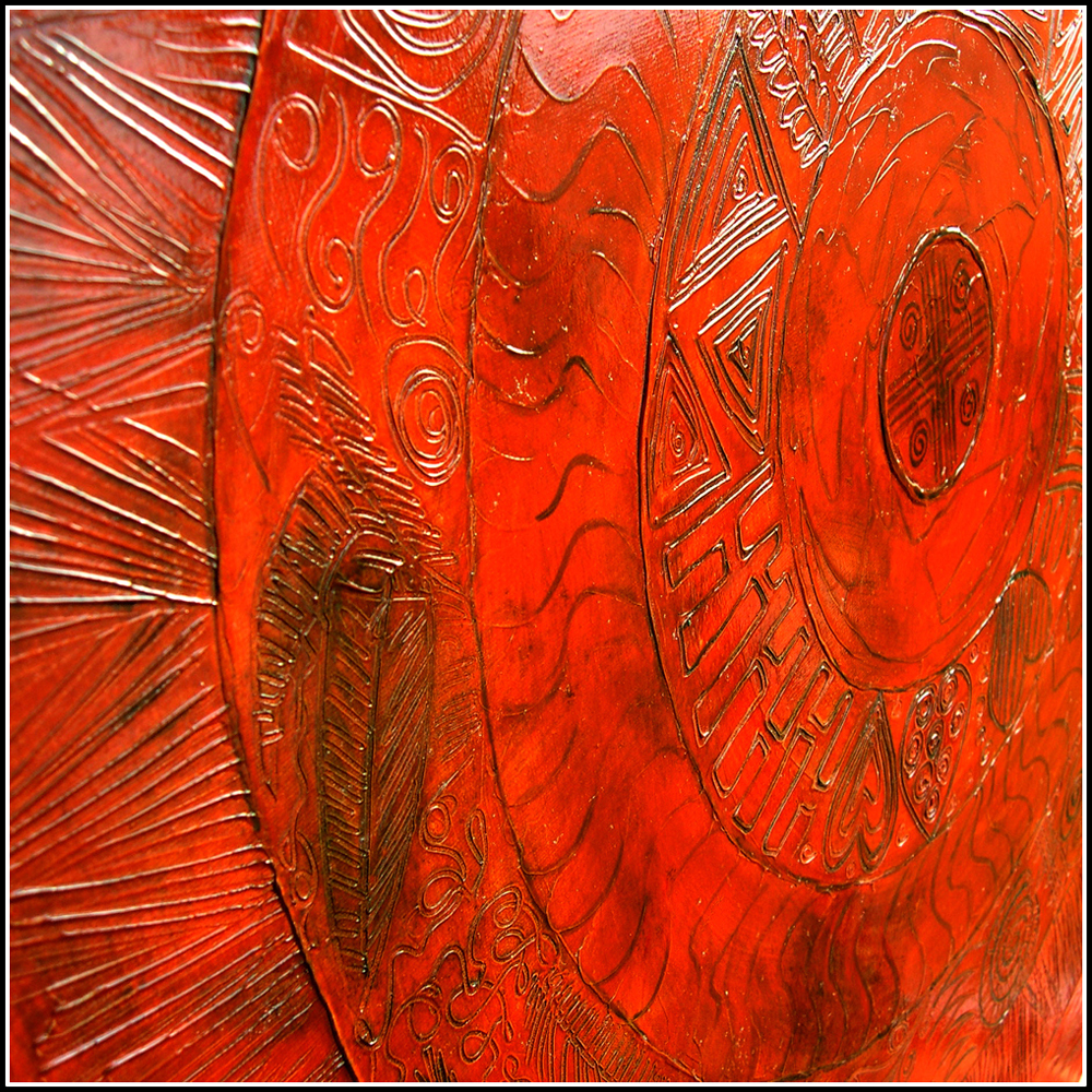 Voyage of the Big Red Sun - detail